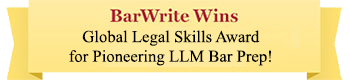 BarWrite Wins Global Legal Skills Award for Pioneering LLM Bar Prep